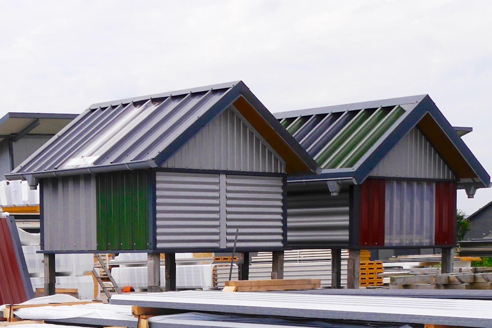 Künstlerisch Fassade Mit Blech Verkleiden Dekoration Von Die Wellenprofilflächen An Fassaden Und Hallen, Erfreuen